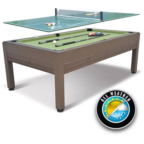 table tennis cover for pool table eastpoint sports 84 quot outdoor billiard pool table with