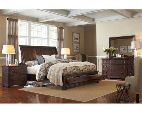 aspenhome bedroom set  storage bed westbrooke asi sset