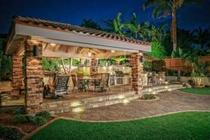backyard outdoor living cabanas outdoor living spaces gallery western outdoor