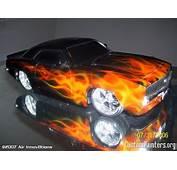 True Fire Flames On RC Car  CustomPaintersorg
