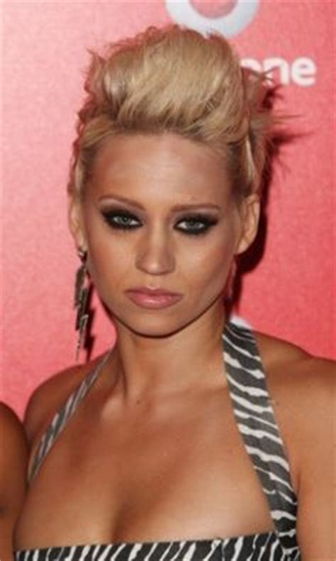 what hair products does kimberly wyatt use kimberly wyatt two tone faux hawk kimberly wyatt