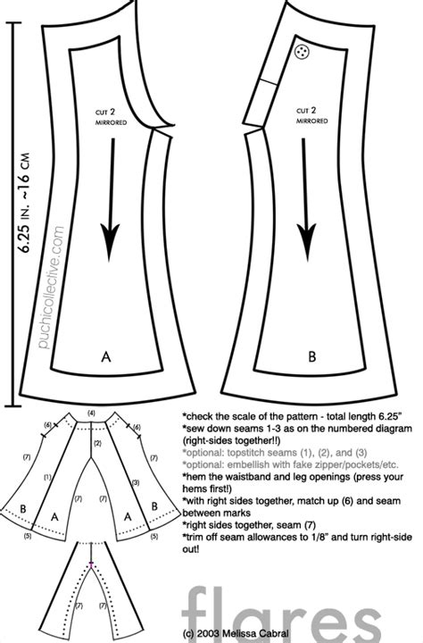 pattern for jeans pants pattern anyone monster high dolls com