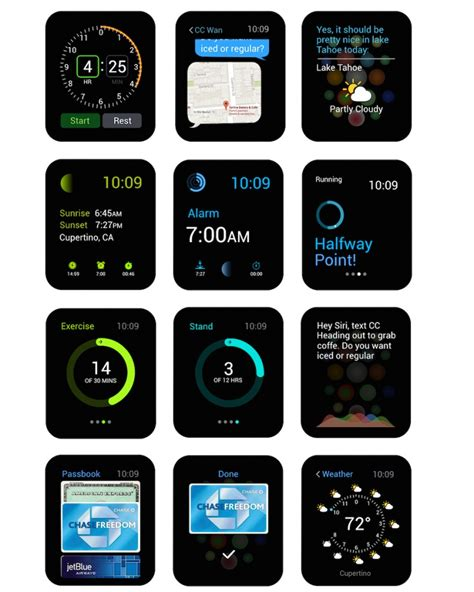 design apple watch apple watch vector ui kit for keynote and powerpoint