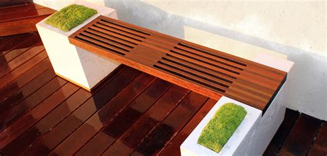 creative bench creative concrete bench idea montreal outdoor living