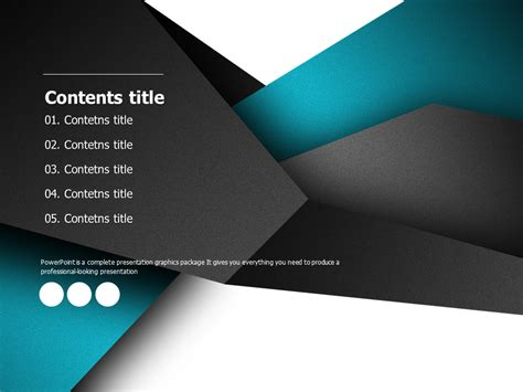 디자인 프레젠테이션 템플릿 Goodpello Professional Powerpoint Templates 2013