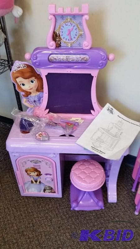 Sofia The Desk by Disney Sofia The Royal Prep Talking School Desk Out Of Box Assembled Summer