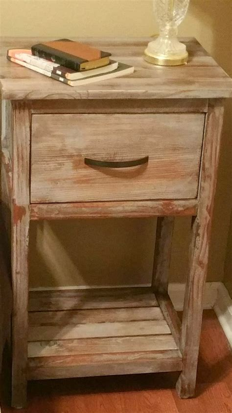 Diy Nightstand by 1000 Ideas About Rustic Nightstand On