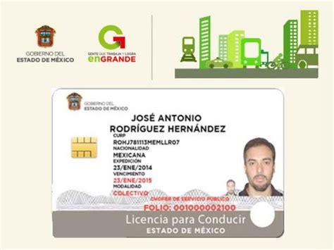 licencias de conducir pagafacilgobmx caracteristicas de la licencia de conducir del estado de