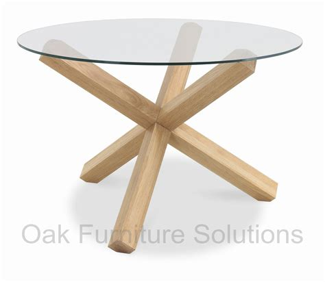 glass and oak dining table lyon washed oak glass top dining table oak