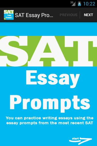 Sat Essay Writing Prompts by Sat Essay Prompts Free Android Apps On Play