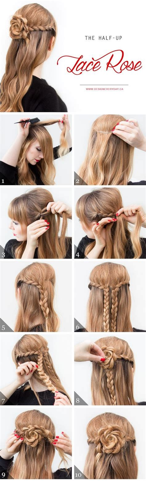 7 easy step by step hair tutorials for beginners pretty 60 easy step by step hair tutorials for long medium and