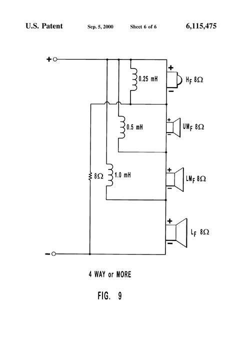 capacitor crossover network 28 images 3107 crossover capacitors what are three way speaker