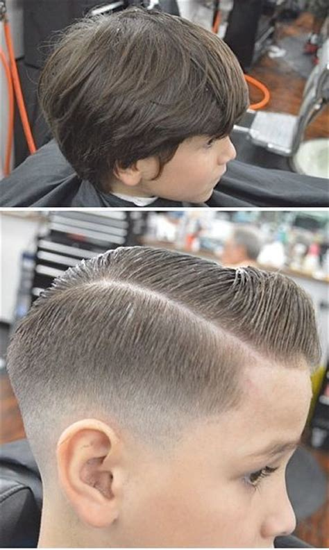 little boy haircuts before and after undercutlittle boys fade google search emilio s