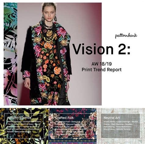 vision 1 autumn winter 2018 19 print trend report trends patternbank print trend report vision 2 aw