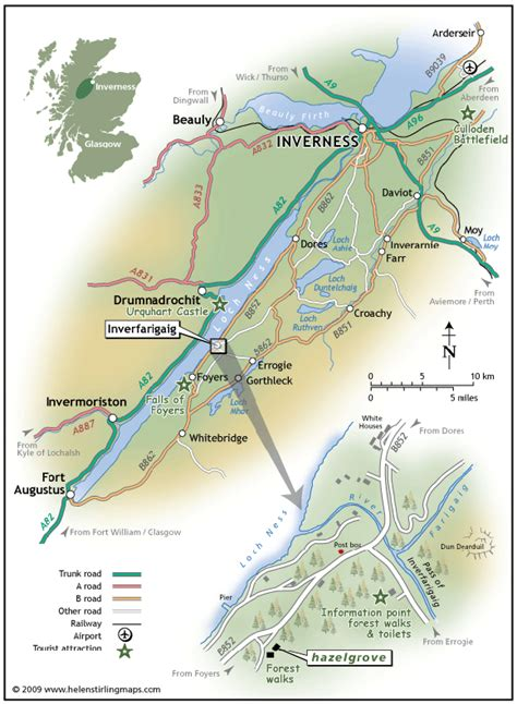 loch ness map loch ness map www imgkid the image kid has it