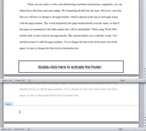 apa format header and footer how do i add headers and footers in microsoft word gcu