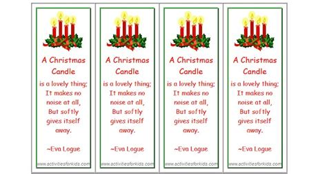printable poetry bookmarks printable advent calendar paper chain