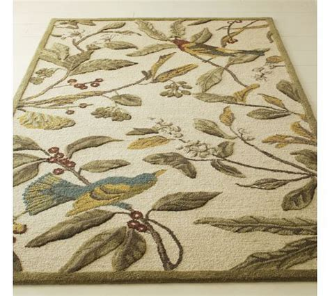 pottery barn floral rug sparrow rug from pottery barn 299 99 on sale for 5 x 8 products for the home