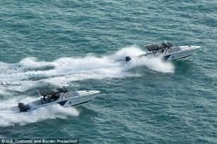 panga boat uk blackhawk border helicopter fires shots at drug smugglers
