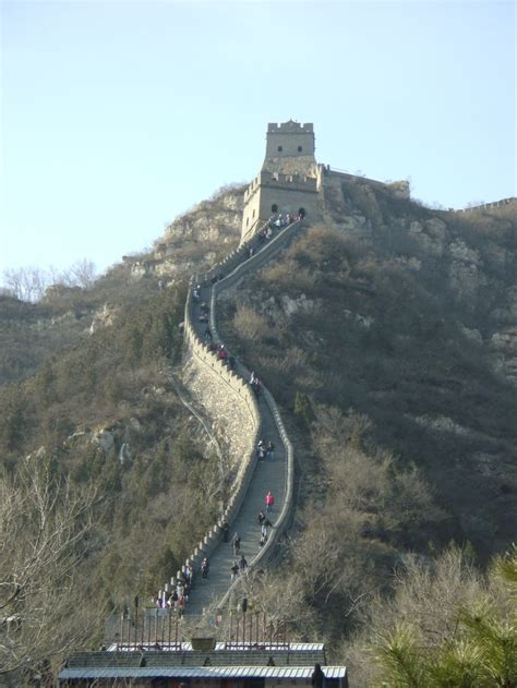 great wall badaling section great wall of china badaling section china pinterest