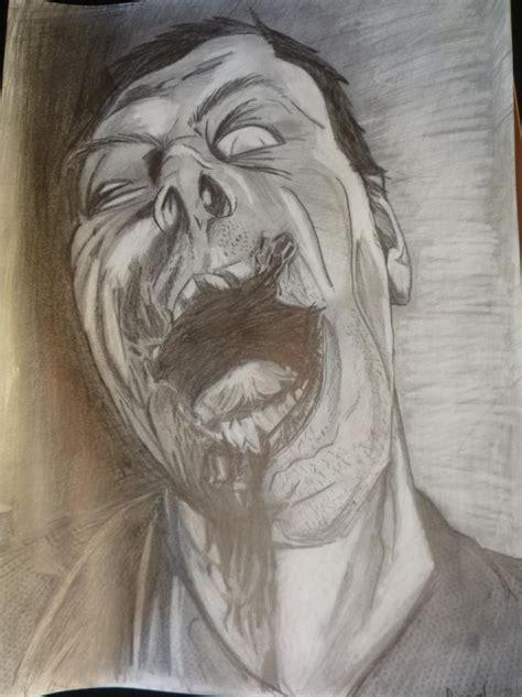 imagenes de dibujos a lapiz de zombies dibujos de zombies im 225 genes taringa