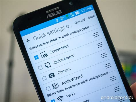 how do you take a screenshot on android how to take a screenshot with the asus zenfone 2 android central