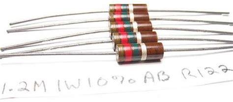 1 meg resistor 1 2 meg ohm 1 watt allen bradley ab carbon resistors