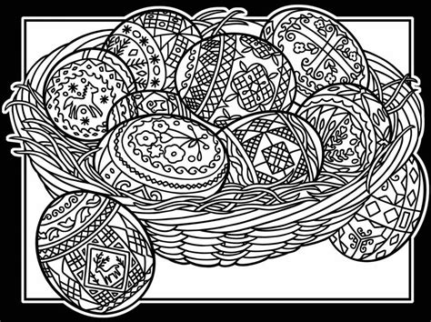 easter coloring pages  adults  coloring pages