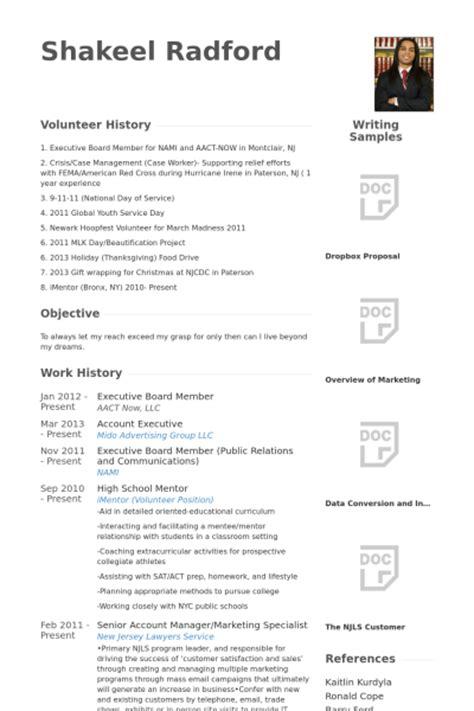 Board Member Resume samples   VisualCV resume samples database