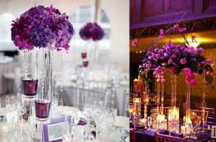 Hindu Wedding Decorations For Sale Purple And Silver Wedding Centerpieces With