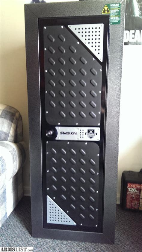 stack on tactical security cabinet armslist for sale stack on 14gun tactical locker