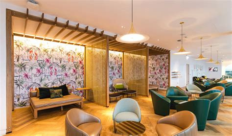 V Room Airport Lounge by Holidays Unveils New Gatwick V Room Business