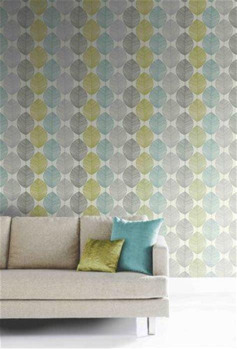 retro blue wallpaper uk teal lime green 408207 retro leaf motif arthouse