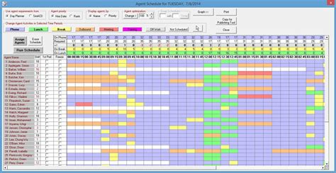 scheduling excel template calendar template 2016