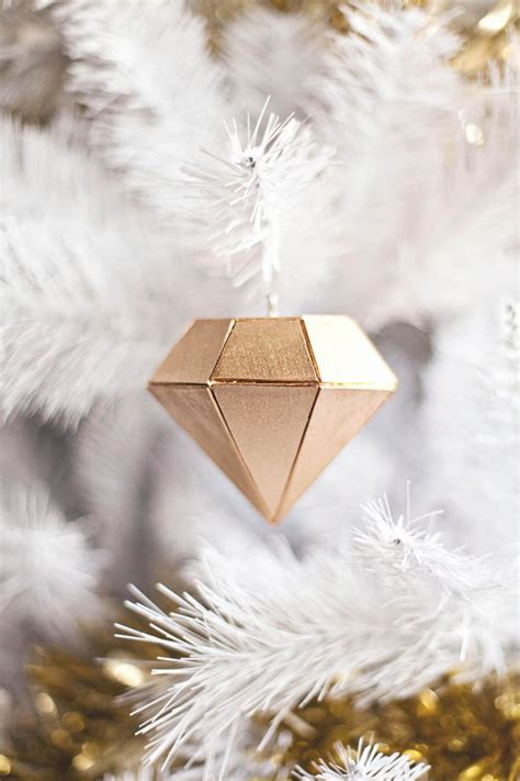 balsa wood diamond ornament a beautiful mess