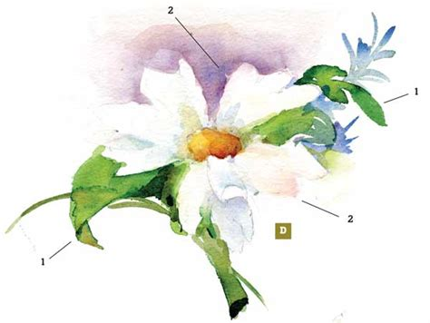 beginner s guide to botanical flower painting books how to paint a watercolor floral still step by step