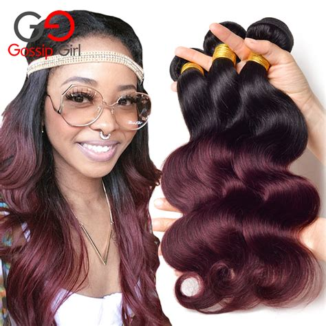 ombre human braiding hair ombre hair bundles brazilian virgin hair body wave bundles