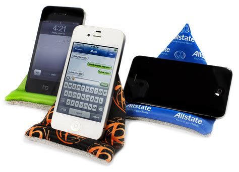 Introducing The Wedge: Custom Branded Phone Stand & Screen