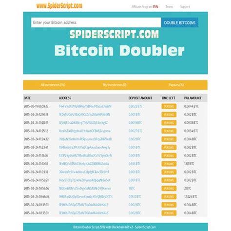 bitcoin doubler bitcoin doubler blockchain api v2