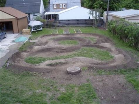 Backyard Pumptrack by Backyard Pumptrack Yard And Garden