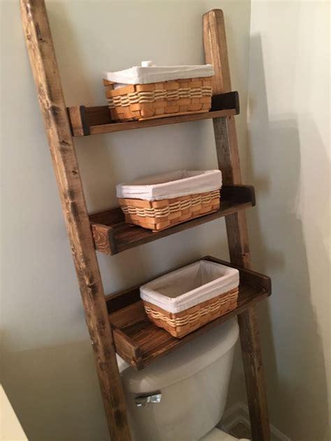 17 best ideas about leaning ladder shelf on