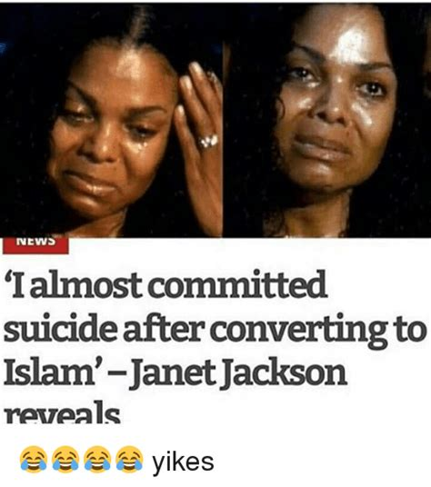 Janet Jackson Meme - news ialmost committed suicide after converting to islam