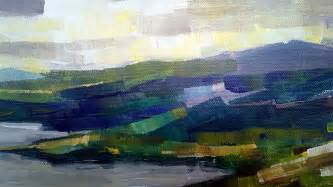 abstract landscape painting zlatko