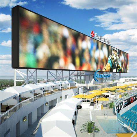 jacksonville jaguars stadium pool jacksonville jaguars to poolside cabanas in stadium
