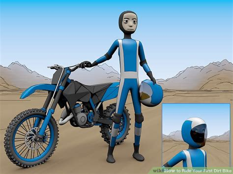 How To Ride Your First Dirt Bike 10 Steps With Pictures