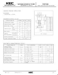 transistor tip32c datasheet tip32c datasheet pnp transistor for general purpose applications from
