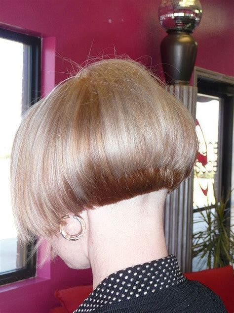 flickr shaved haircuts short graduated bob with shaved nape 1 of 2 flickr