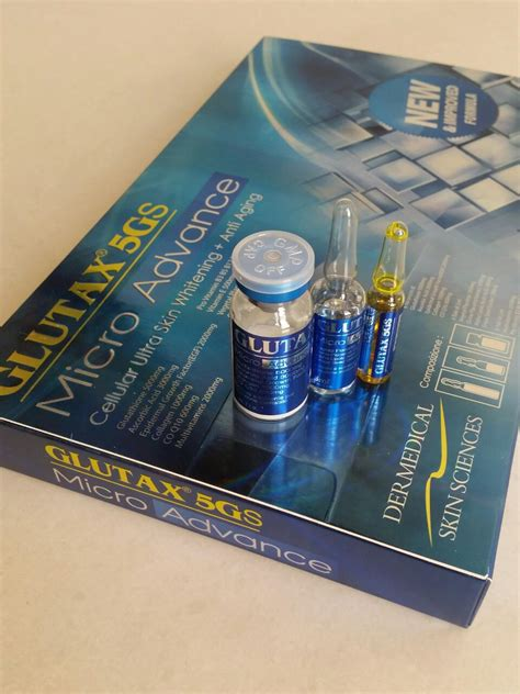 Glutax Micro 5gs glutax 5gs micro advance 18pcs glutathione philippines