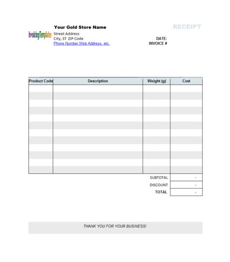 Blank Invoice Template Sles Vlashed Templates For Microsoft Word
