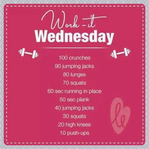 workout wednesday the beginner s exercise plan exercises for women female fitness by wednesday work out for any at home gym bunnies gym bunny